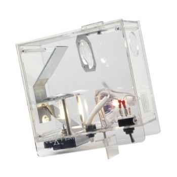 Horloge projetée Designheure Cubic Transparent -cutr