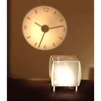 Horloge projetée Designheure Coolheure Silver -cosi