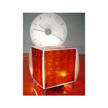 Horloge projetée Designheure Coolheure Disco Orange -codo