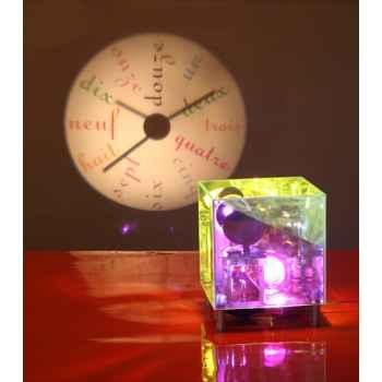 Horloge projetée Designheure Coolheure Magic Mirror -comm