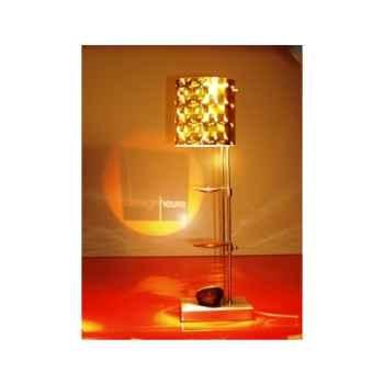 Lampe de table projectrice d'image Designheure Scope Disco Gold -scdg