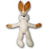 peluche lapin blanc gabrieles petites marie 20cm