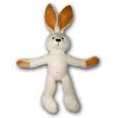 peluche lapin blanc gabrieles petites marie 30cm