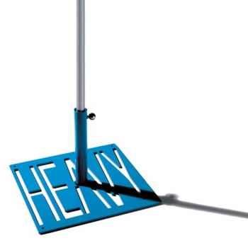 Pied de parasol Sywawa Socle Heavy bleu tube60 -72835012