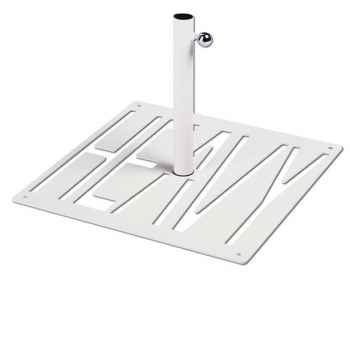 Pied de parasol Sywawa Socle Heavy blanc tube60 -72839010