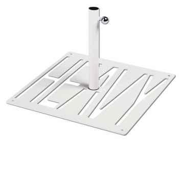 Pied de parasol Sywawa Socle Heavy blanc tube48 -20119010