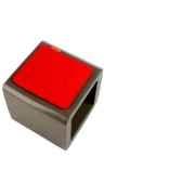 pied de parasosywawa socle cube pouf taupe 7122taupe