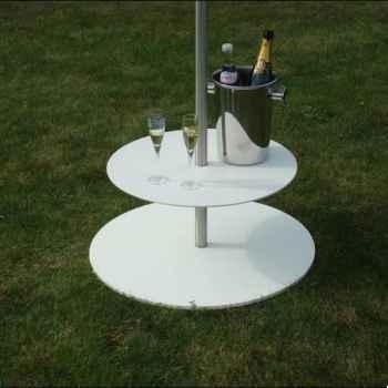 Table accessoire parasol Sywawa Bla Bla blanc -71919010