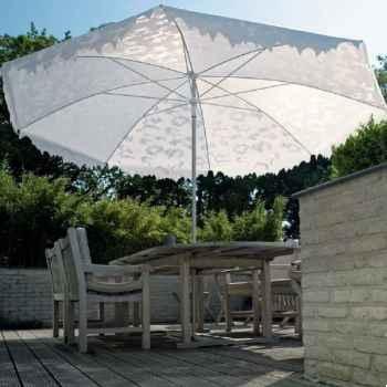 Parasol Sywawa Shadylace XL blanc -0550