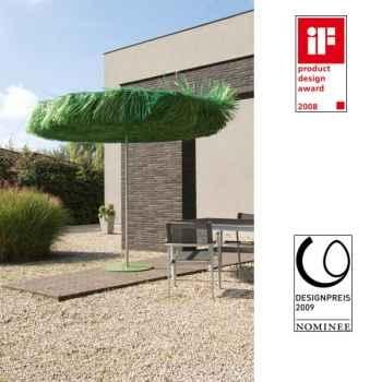 Parasol Sywawa Frou Frou vert avec pied assorti -3339R004