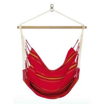 Chaise hamac Currambera La Siesta modèle rouge -CUC14-2