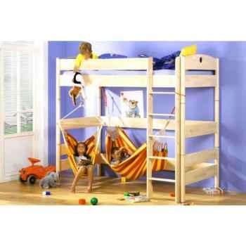 Chaise hamac enfant Chica La Siesta modèle rouge et jaune -CHC10-2