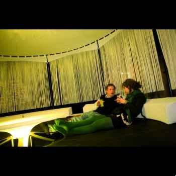 Voilage cordon Extremis pour lounge BeHive -BHGKW