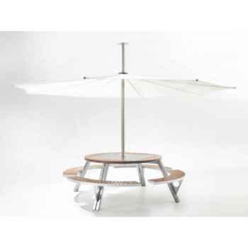 Table et parasol Extremis Gargantua, InUmbra -GI_IUW40