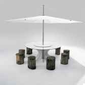 table et parasoextremis arthur extremis pour 8 personnes inumbra arow08iuw35