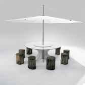 table et parasoextremis arthur extremis pour 10 personnes inumbra arow10iuw40