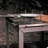 table barbecue extempore extremis rectangulaire ekbq