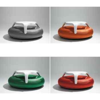 Table DoNuts Extremis avec assise de couleur personnalisée -DTWBK