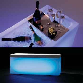 Bac lumineux IceCube Extremis bleu -ICPE-BLE