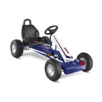 Karting à pédales Puky blanc bleu F 1L