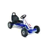karting a pedales puky blanc bleu f 600l