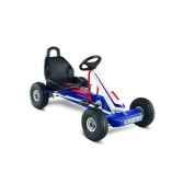 karting a pedales puky blanc bleu 3 vitesses f 600ls