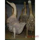 oie en bois animaux bois lcdm006