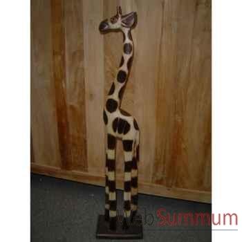 Girafe en bois Animaux Bois Taille 4 -lcdm022