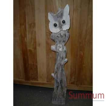 Chouette en bois Animaux Bois Moyen modèle -lcdm028