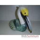 pelican en bois animaux bois lcdm035