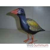 tui bird en bois animaux bois lcdm049