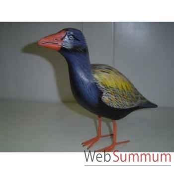 Tui Bird en bois Animaux Bois -lcdm049