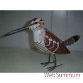 oiseau exotique en bois animaux bois lcdm050