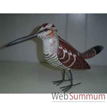 Oiseau exotique en bois Animaux Bois -lcdm050