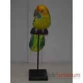 perroquet ara en bois animaux bois lcdm051