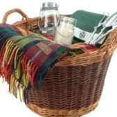 panier jardinage en bois de saule optima willow log basket gift set gdnlog