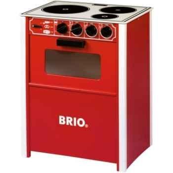 Cuisinière en bois Brio Rouge -31355