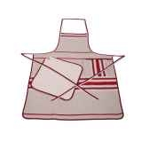 tablier chef artiga corda metis bordeaux blanc