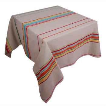 Nappe ronde Artiga Corda Metis Multicolore 170