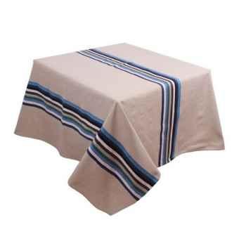 Nappe rectangulaire Artiga Mauleon bleu 300 x 165