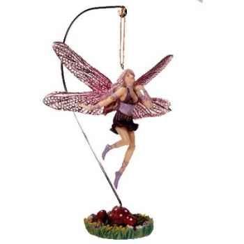 Figurine Elfe Les Etains Du Graal Fée Suspendue -42003