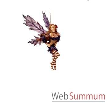 Figurine Elfe Les Etains Du Graal Fée Suspendue -42004