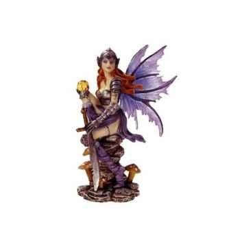 Figurine Elfe Les Etains Du Graal Fée Suspendue -42007