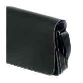 besace midipy en cuir noir mid041