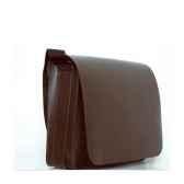 besace midipy en cuir chocolat mid040
