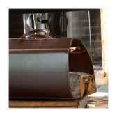 porte buches midipy en cuir chocolat mid015