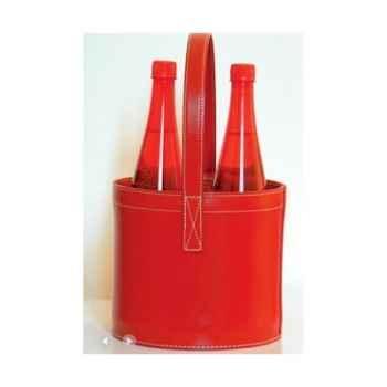 Midi Bar Quatro Midipy en cuir Rouge -mid022