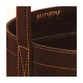 midi bar single midipy en cuir chocolat mid025