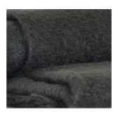 plaid en mohair midipy gris anthracite mid011