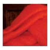 plaid en mohair midipy rouge mid013